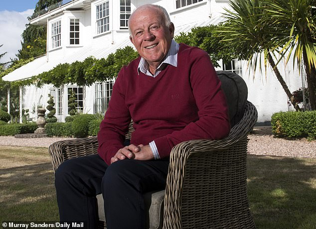 The sale takes his total ownership in the financial services giant to less than 20 per cent and comes twelve months after he offloaded shares worth £550million
