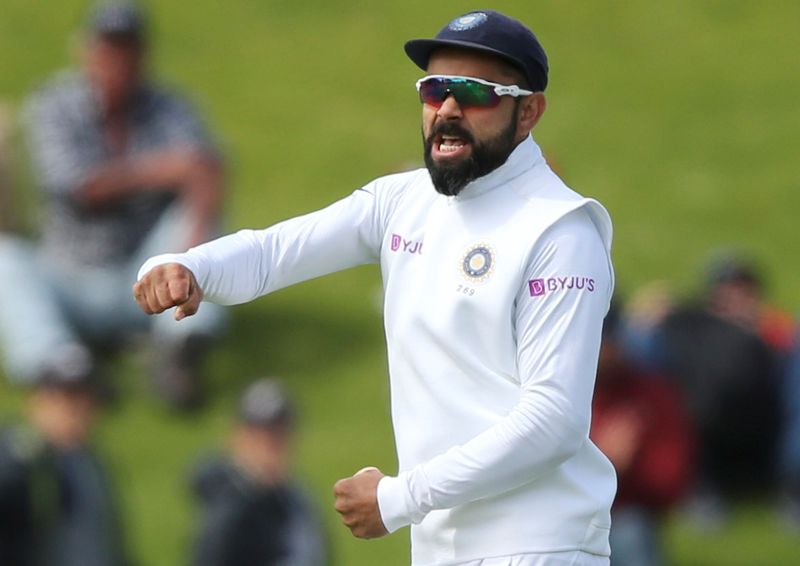 © Reuters. New Zealand v India - First Test