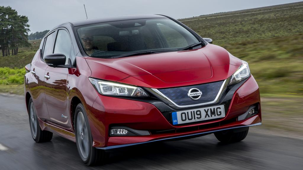 Nissan is bringing its upgraded Leaf e+ to Australia next year. (overseas model shown)
