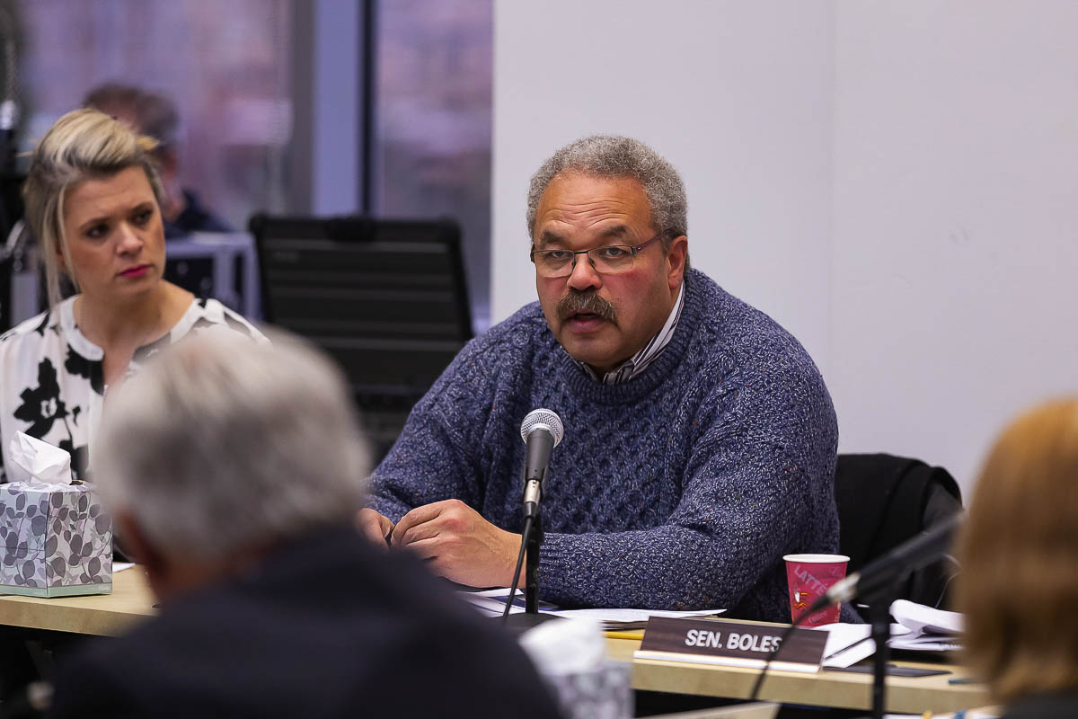 Oregon Sen. Lew Frederick is one of 16 members of the Bi-State Bridge Committee reviewing the failed Columbia River Crossing and deciding on a potential replacement Interstate Bridge. He thought the original project was too narrow in scope and wants to broaden the discussion this time. Photo Mike Schultz