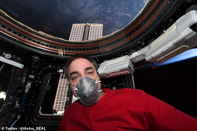 Having been in their own very special 'social bubble' for almost six months, three astronauts will return from the International Space Station tomorrow.In preparation for his return in a Soyuz capsule, NASA's Chris Cassidy tweeted pictures of himself donning a facemask