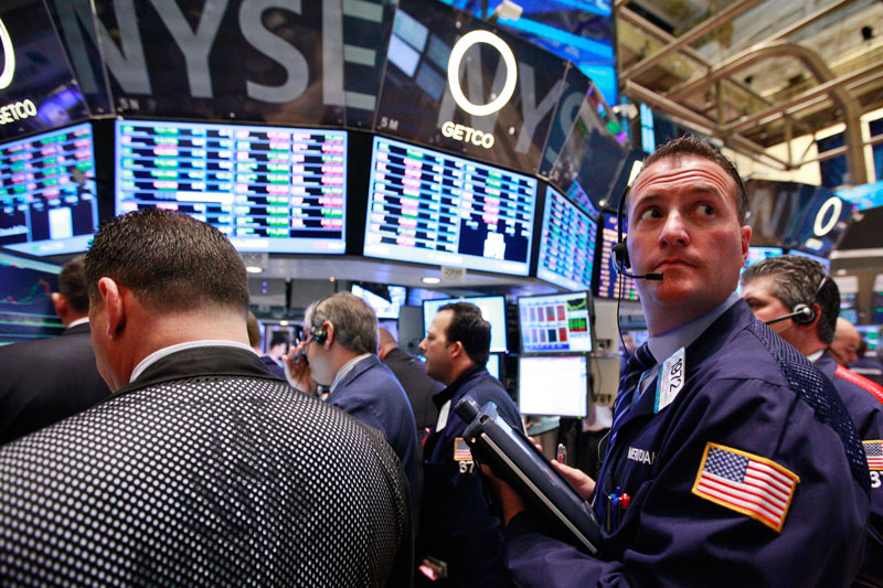 U.S. shares mixed at close of trade; Dow Jones Industrial Average down 0.20%