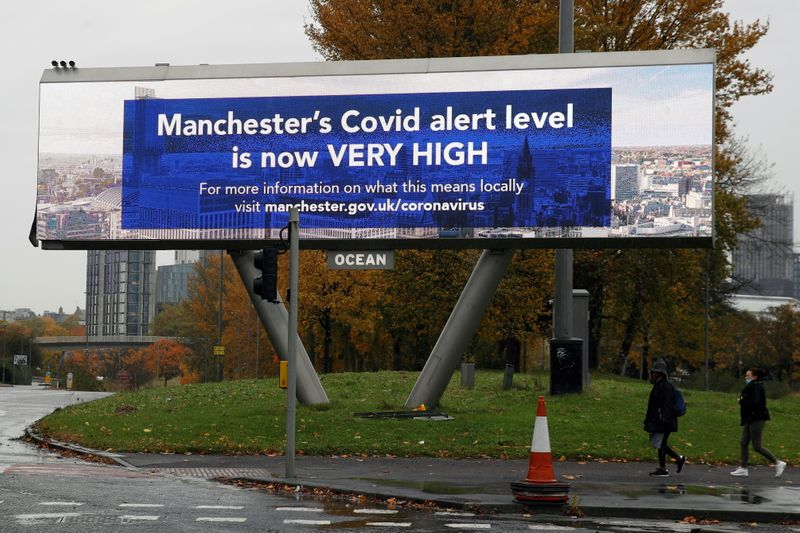 © Reuters. The coronavirus disease (COVID-19) outbreak, in Manchester