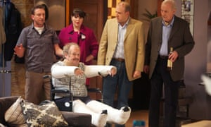 Bobby Ball in the TV series Not Going Out, 2012.