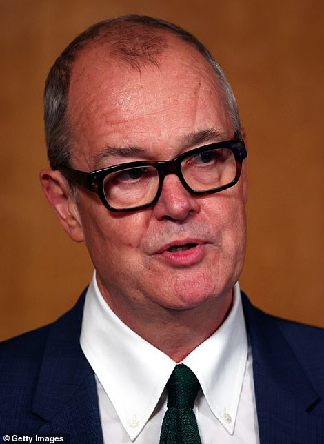 Sir Patrick Vallance, the Chief Scientific Adviser, is said to be leading calls within Government for Boris Johnson to take drastic action as soon as possible to halt the spread of infection
