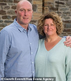Sharon and Edward Delahaye face abill of £30,000 to replace dangerous cladding
