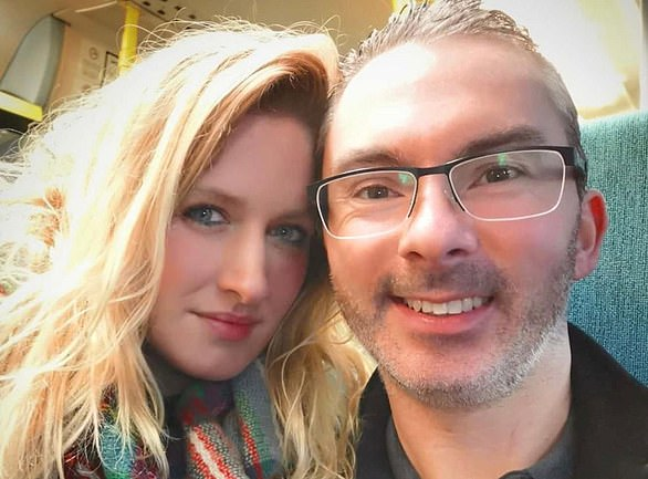 Trapped: Jamie Nelson-Singer(pictured with girlfriendwith his girlfriend Elizabeth Eaton) is selling his flat to a property firm at a 40 per cent discount to avoid bankruptcy