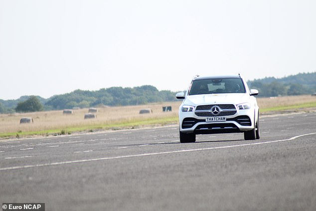 The top performer in the first round of tests was the Mercedes-Benz GLE SUV. Researchers said it 'keeps the driver engaged with plenty of clear communication regarding the assistance offered and 'provides really useful assistance, but not so much that drivers will believe the car can drive itself'