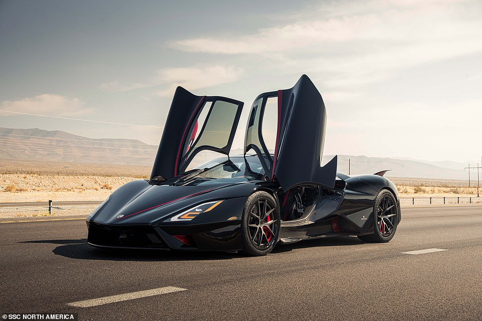 The US hypercar is built on a carbon fibre monocoque chassis, and the lightweight material is also used for the car's body. As a result, it tips the scales at a mere 1,247 kilogram - which is around the same bulk as a Ford Fiesta supermini