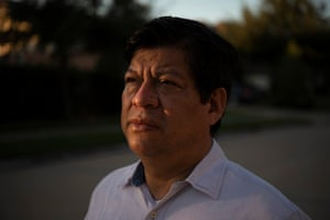 Arturo Curiel works in the US under a TN visa. If his current project isn't renewed, it could upend his life and send him back to his native Mexico.