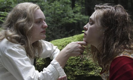 Elisabeth Moss and Odessa Young in Shirley.