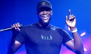 Stormzy features on the Labour leader's list because 'my children love Stormzy'.