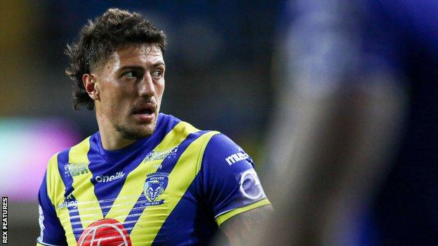 Anthony Gelling scored six Super League tries during his time with Warrington, helping them to a 2020 play-off semi-final spot