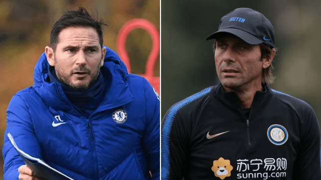 Antonio Conte ranks Frank Lampard's job at Chelsea so far