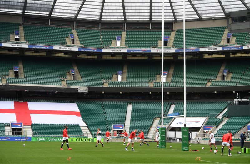 © Reuters. Autumn Nations Cup - England Training
