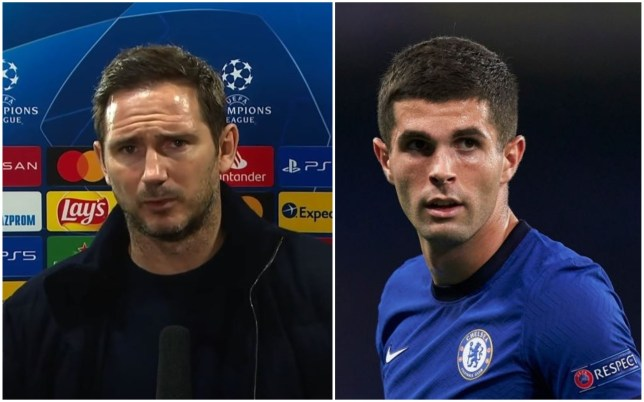 Frank Lampard has revealed Christian Pulisic is fit for Chelsea's clash vs Tottenham