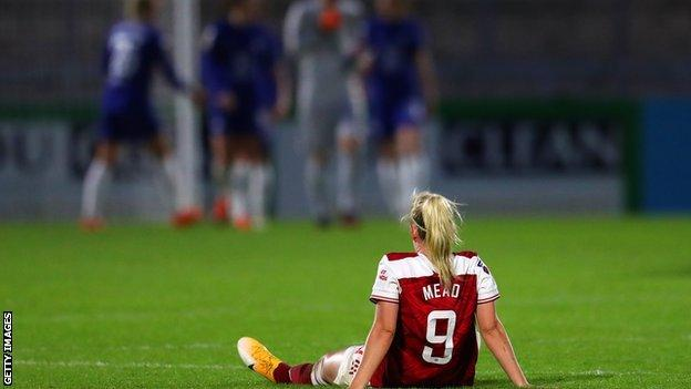 Beth Mead's late goal for Arsenal looked set to condemn Chelsea to a first WSL defeat in almost two years before that cruel late equaliser