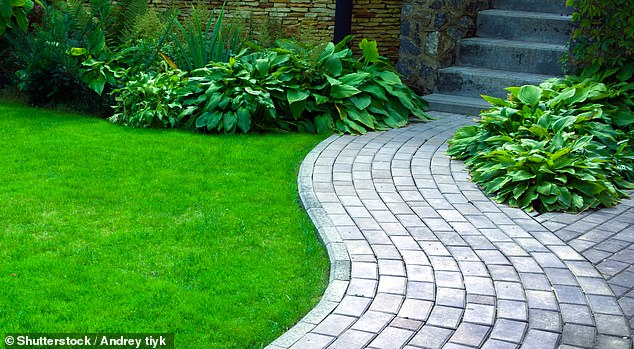 Paving the way:Founded in the late 1900s, Marshalls specialises in products for outdoor spaces, from garden paths to pavements, bollards and kerbs on the street