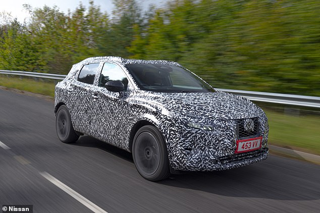 SUV that will save Sunderland jobs: These are the first images of the all-new Nissan Qashqai, which will be built in Britain from 2021
