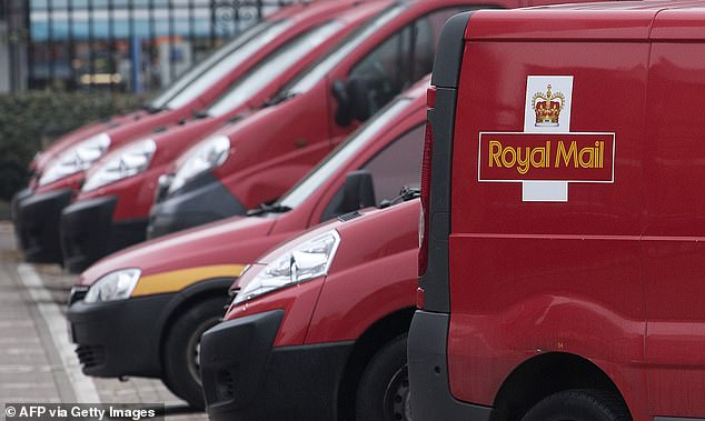 Royal Mail shares hit their highest level for almost two years as it said an explosion in internet shopping could deliver as much as £580 million of extra revenue this year