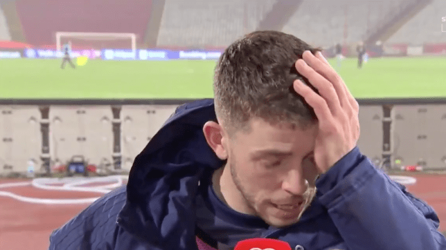 Ryan Christie gives an emotional post-match interview after Scotland qualify for Euro 2020 on penalties against Serbia