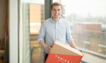 Joe Metcalfe, co-founder of Thrift+, thinks consumers are making a moral decision to do more recycling.