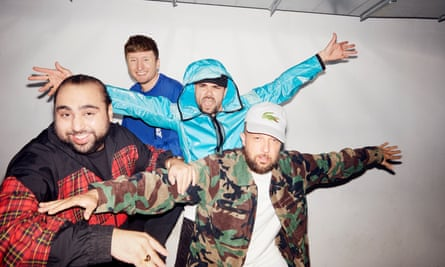 'Consistently cringe-inducing' ... Kurupt FM, who have launched another series of their podcast.