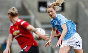 Sam Mewis controlled the game for Manchester City.