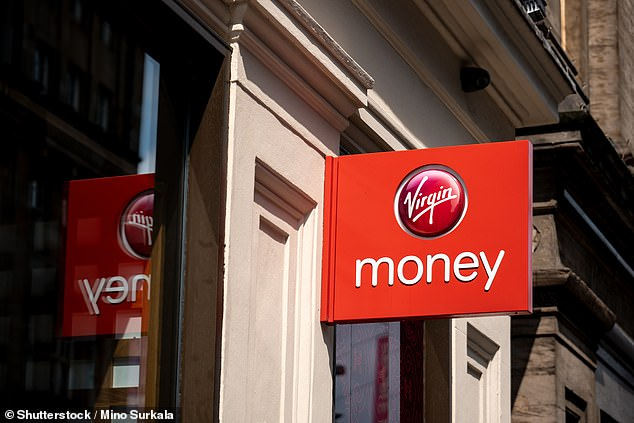 Plunging:Virgin Money's profits have fallen by 77% in the last year