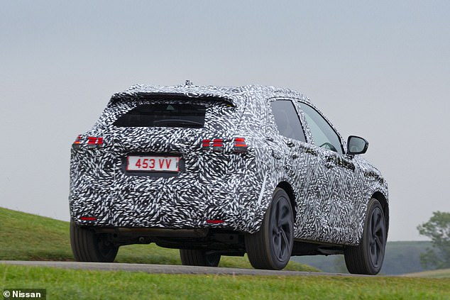 The new Qashqai will also a fraction taller than the current model to provide improved head space and the boot capacity will expand by 45 litres compared to the outgoing car
