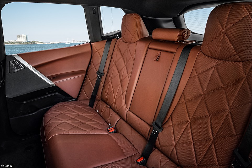 A mixture of high-quality materials, five newly developed seats with integral head restraints, a large panoramic glass roof are designed to create 'a luxurious, lounge-like ambience'