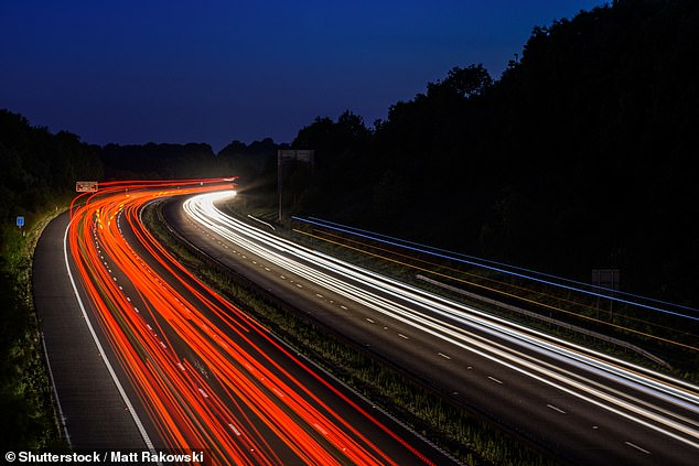 One on five of the motorists surveyed said they feel anxious when driving on unlit roads at night