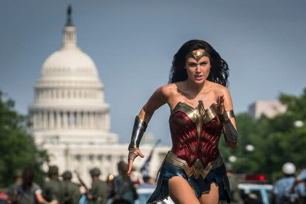 """""""Wonder Woman 1984,"""" starring Gal Gadot, is expected to give a boost to the HBO Max streaming service."""