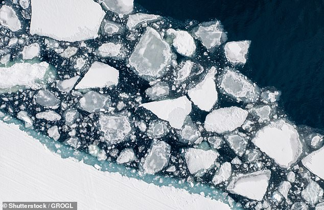 A dangerous rise in global temperatures above the 1.5C limit set by the UN could happen in just five years, warn scientists (melting ice near Sirmilik National Park on Bylot Island pictured)