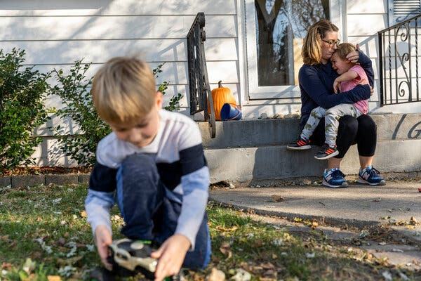 """""""Work is so much more than what you're taking home as payment,"""" Laci Oyler said. But when cutting her hours wasn't enough to deal with child care, she quit her job."""