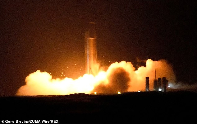 Space X performed the third over all static fire on Starship SN8 Thursday November 12 at its Boca Chica facility in Texas. The next stage is a high altitude test