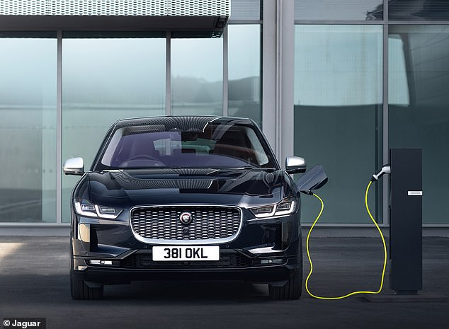 Jaguar Land Rover, which has been heavily reliant on diesel engines for years, says it is ready to meet the Government's new target of selling only hybrid and electric cars from 2030. Pictured: the brand's first and - currently - only BEV, the Jaguar I-Pace, launched in 2018