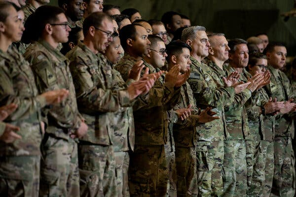 Since the election, President Trump has ordered the withdrawal of thousands of troops from Afghanistan.