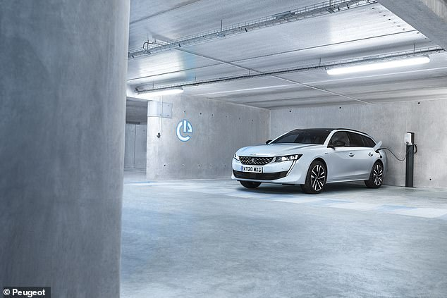 Peugeot's stylish 508 saloon and estate has the option of PHEV technology