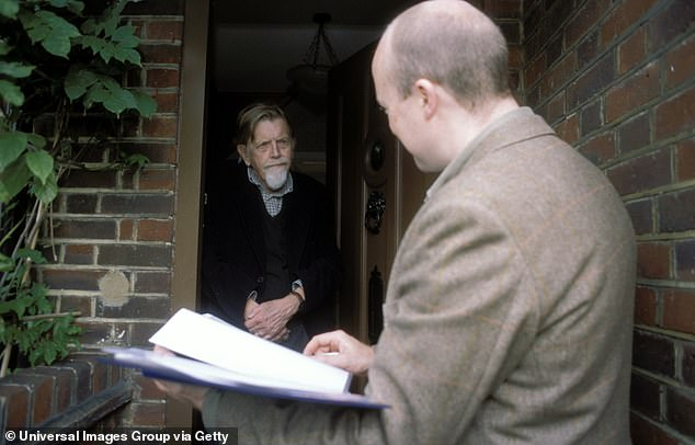 Salesmen were filmed routinely defying Government guidance to enter people's homes - some with underlying health problems - without wearing masks (stock picture)