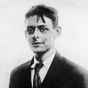 Portrait of a young TS Eliot.