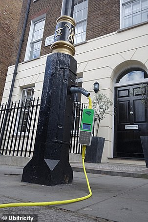 Ubitricity first installed lamppost chargers in London in June 2017