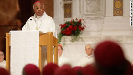 Archbishop Wilton D. Gregory speaks during a Mass to repent clergy sexual abuse and to pray for molestation victims in 2017 in Indianapolis.