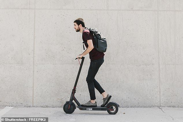 Halfords recently said sales have shot up by 30 per cent in the last year to around 50,000 units, despite personal-use e-scooters being banned from use of public highways