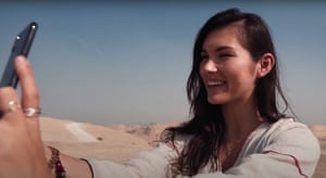 Eva zu Beck in a video she posted from Gwadar, Pakistan in 2019.