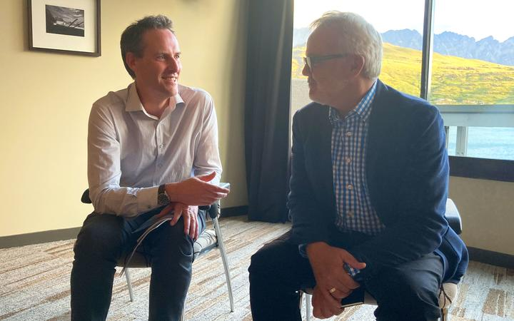Lawyer Steven Moe, an expert in social enterprises chats to Peter Bale, a former media executive and advisor for Crux's ownership plan.