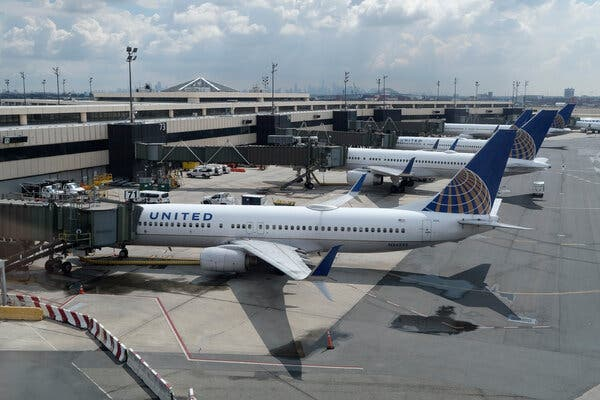 United Airlines said it planned to operate about 48 percent as many flights in December as it did in the same month last year.