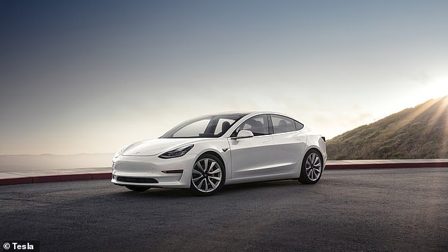 Tesla is the most famous BEV maker. The Model 3 (pictured) is the best-selling BEV in the UK in 2020