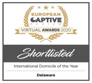 European Captive Awards Shortlisted International Domicile of the Year: Delaware
