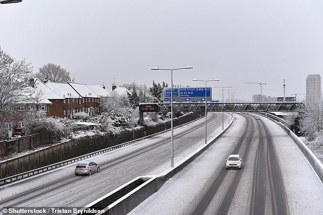 The Government has bolstered its gritter capacity despite traffic volumes expected to be lower this winter due to the impact of the Covid-19 pandemic